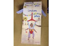 Lindam bounce about plus door bouncer- Excellent condition