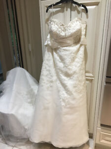 BRIDAL GOWN - Ivory - Beaded -$500 or best offer