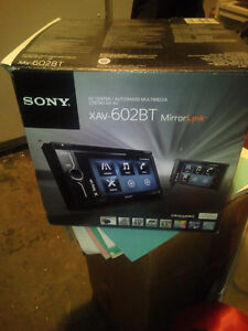 SONY MIRROR LINK CAR STEREO