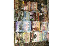 Train magazines x 12