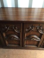 Wooden Buffet Stand TV Table aside Console