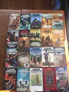 Louis L'Amour Western Paperbacks..price slashed for quick sale