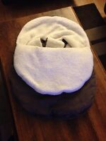 Car seat cover- brown in color