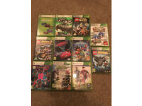 XBOX 360 - 11 GAMES - KIDS