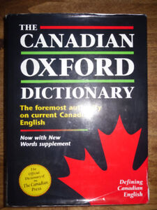Canadian Oxford Dictionary - great for school
