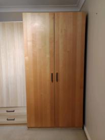 Large Wood Wardrobe