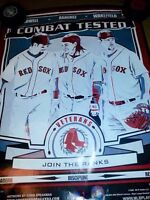 2008 Dunkin Donuts Boston Red Sox Posters