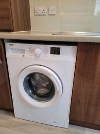 BEKO White 7kg Washing Machine 11 months old. Excellent condition.