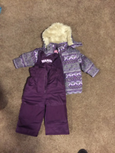 Kids Snow Suit - Girl Size 1
