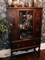 Beautiful antique china / display cabinet