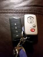 LOST TOYOTA KEY FOB AND PYTHON REMOTE STARTER