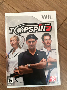 TOP SPIN 3 pour wii