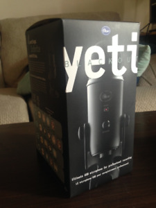 Blue Yeti Microphone and Elgato HD60 Pro