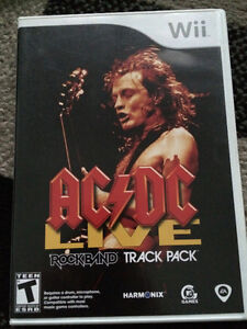 AC/DC Live Rock Band Track Pack - Wii Standard Edition