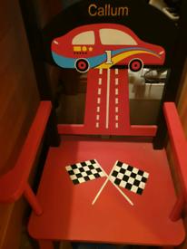 Personalised rocking chair 'callum'
