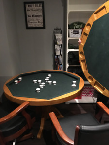 Pool Bumper Table & Chairs
