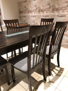 5'x3' Dining Table with 6 Chairs