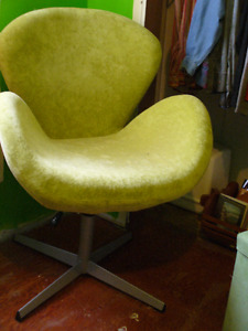 Swan style chair
