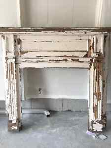Antique Rustic Mantle