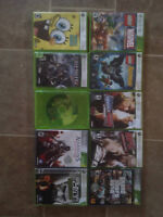 10, x box 360 games take all for $40