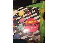Giddens sociology book