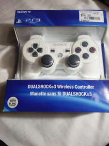 White PS3 Wireless Controller