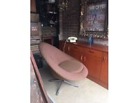 1960s SWIVEL CHAIR FREE DELIVERY LOUNGE CHAIR ARMCHAIR
