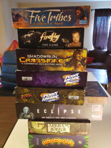 Board Game Variés, Eclipse Five Tribes, Firefly