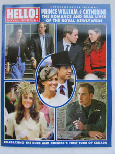 Royals: Prince William & Catherine RARE magazine