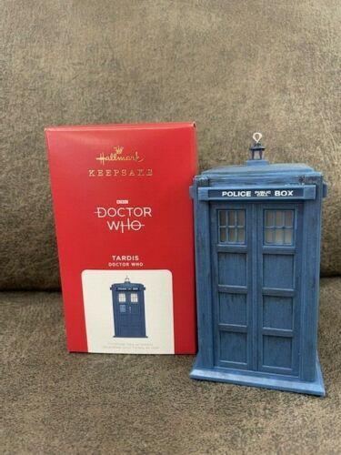 2021 Hallmark TARDIS Doctor Who Magic Ornament *NIB* FREE SHIPPING IN US!!!