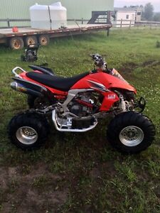 2009 Kawasaki KFX450R with reverse and extremely low hours!