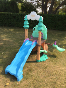 Little Tikes 1-2-3 Climber, Sea Saw and Slide