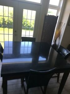 Granite Kitchen Table in Mint Condition