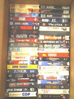 VHS FILM COLLECTION (357 videos)