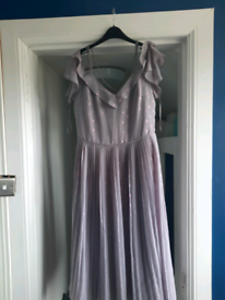 Oasis pleated dress size 12