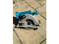 MAKITA CORDLESS RECIPROCATING & CIRCULAR SAW
