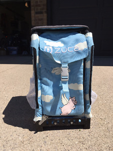 Zuca Skate Tote Rare Flying Pigs Edition