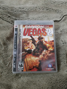 Rainbow Six Vegas 2 PS3 game.