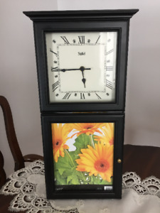 Wall Clock with Picture frame