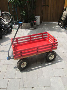 HIGH QUALITY WOODEN WAGON FOR SALE