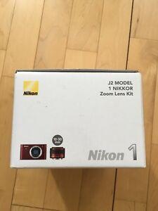 ***Brand New in Box, Nikon J2 Camera w/10-30mm zoom lens kit***