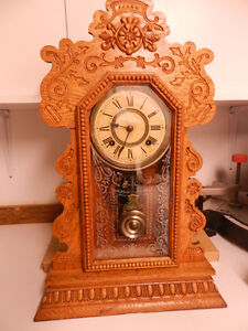 Carved Gingerbread Clock London Ontario image 1