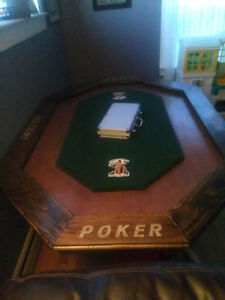 6-8 Person POKER TABLE 200$ May trade