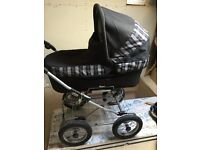 Emmaljunga complete 3 in 1 Pram, Carrycot and Pushchair.