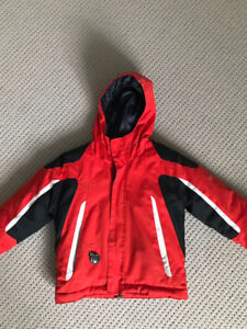 4 yrs Obermeyer Winter Jacket. Only used one winter. Like new.