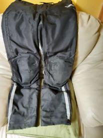 Ladies motorbike waterproof trousers