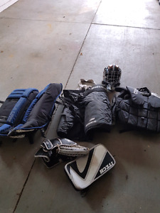 ball/street hockey goalie gear