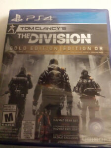 The Division gold edition or new/neuf