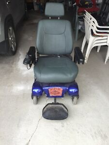 Electric wheelchair obo