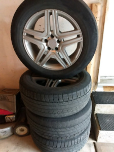 Mercedes Benz rims 18""